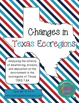 Texas Ecoregions Research - TEKS 7.8A