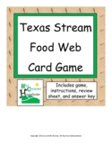 Texas Ecosystem Food Web Food Chain Trophic Levels Card Game