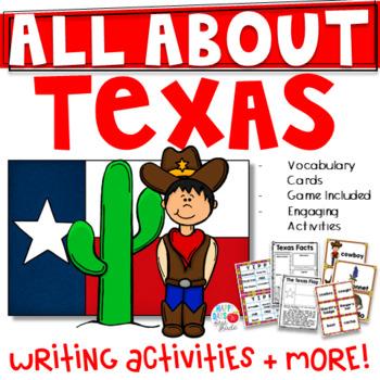 All About Texas- Kindergarten/1st/2nd Grade (TEKS Aligned)