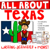 All About Texas- Kindergarten/1st/2nd Grade (TEKS Aligned)