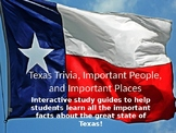 Texas Facts and Trivia Interactive Study Guide