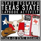 Texas Research Activity Lapbook [Texas Symbols, Facts & More]