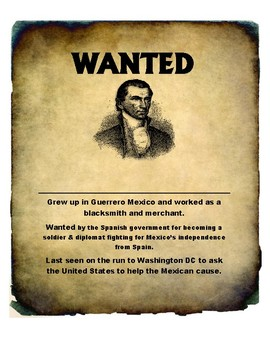 Texas Filibusters Wanted Posters