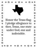 Texas Flag Pledge