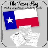 Texas Flag Reading Comprehension and Color by Number