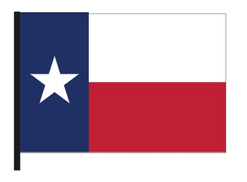 Texas Flags with Coloring Pages