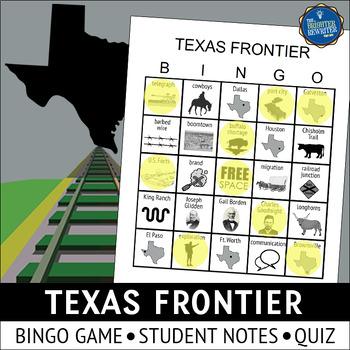 Texas Frontier Bingo