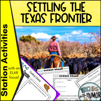 Texas Frontier LITERACY ACTIVITY