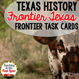 Texas Frontier Task Cards with Self Checking QR Codes