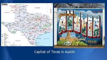Texas-Geographic profile of the state