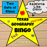 Texas Geography Bingo