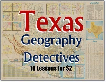 Texas Geography Detectives