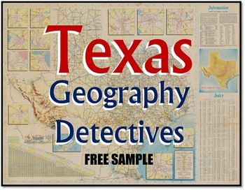 Texas Geography Detectives (FREE Sample)