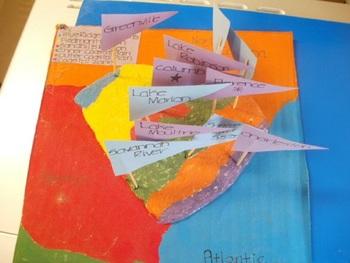 Texas Geography: Salt Map & Edible Maps