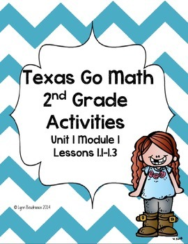 Texas Go Math! Module 1 Lessons 1.1-1.3