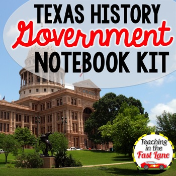 Texas Government Notebook Kit