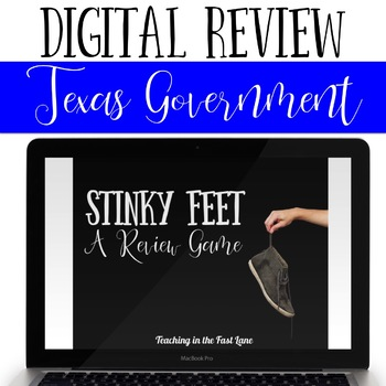 Texas Government Review Game Stinky Feet