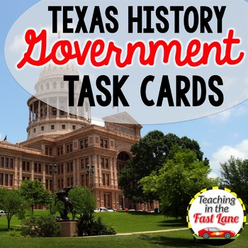 Texas Government Task Cards