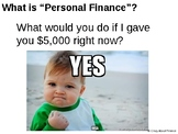 Texas Grade 6 Personal Financial Literacy Unit