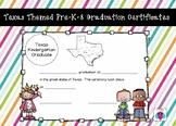Texas Graduation Pre-K-8 Certificate