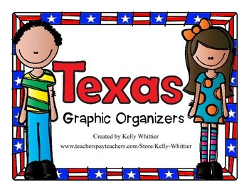 Texas Graphic Organizers (Perfect for KWL charts and geography!)
