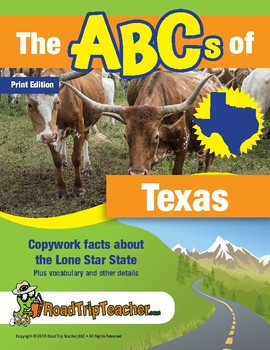 Texas Handwriting Printables - Print Edition