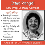 Irma Rangel: a Social Studies Literacy Packet