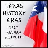Texas History 7th Grade Eras Review Game