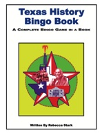 Texas History Bingo Book