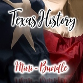 Texas History 7th Grade - Texas History Mini - Bundle