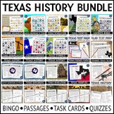 Texas History Bingo Bundle