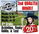 Texas History Bundle-  Use with Studies Weekly Magazine