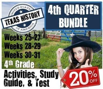 Texas History Bundle- Use with Texas Studies Weekly