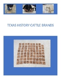 Texas History Cattle Brand Project