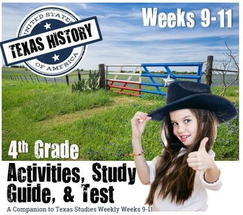 Texas History- Columbus and Early Explorers-  Use with Texas Studies Weekly 9-11