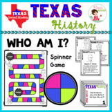 Texas History Famous People Game