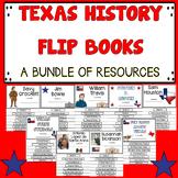 Texas History Flip Books