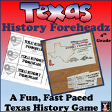 Texas History Foreheadz for Fourth Grade