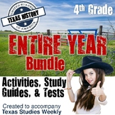 Texas History - Full Year Bundle - Accompanies Texas Studies Weekly