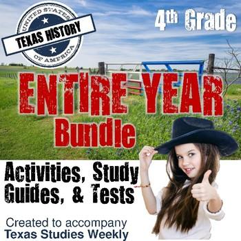 Texas History - Full Year Bundle - Accompanies Texas Studies Weekly