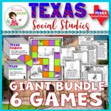 Texas History Games Bundle