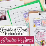 Republic of Texas The Presidencies of Houston and Lamar