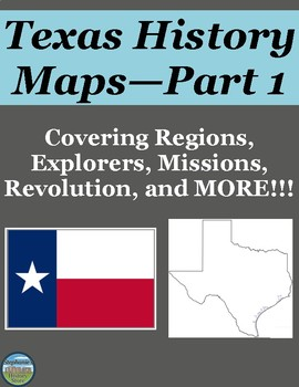 Texas History Map Activities