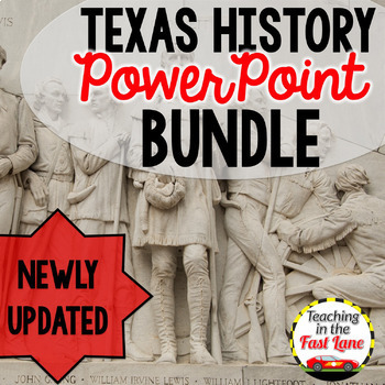 Texas History PowerPoint Bundle