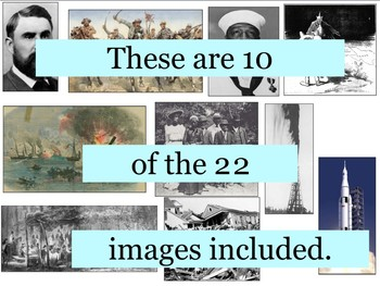 Texas History Primary Source Image Activity BUNDLE