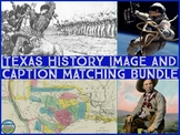 Texas History Primary Source Image Activity BUNDLE