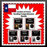 Texas History Reading Comprehension Leaders of Texas