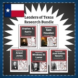 Texas History Research Leaders of Texas