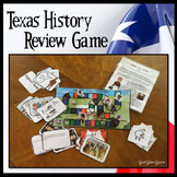 Texas History 7th Grade End of the Year Review Game