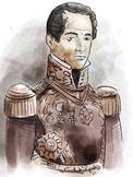 Texas History - Santa Anna Clipart
